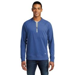 New Era NEA123 Sueded Cotton Blend 1/4 Zip Pullover Thumbnail