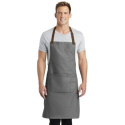 Port Authority A800 Market Full Length Bib Apron Thumbnail