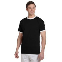 Champion T1396 Adult 5.2 oz. Ringer T-Shirt Thumbnail