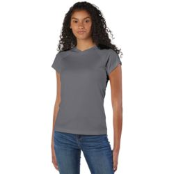 Champion CW23 Ladies' 4.1 oz. Double Dry® V-Neck T-Shirt Thumbnail