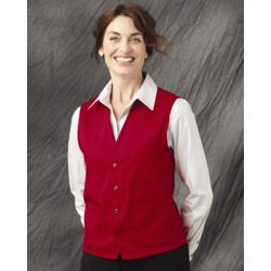 Chef Designs 1360 V-neck Button-Front Vest Thumbnail