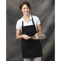 Chef Designs TT32 Short Premium Bib Apron Thumbnail
