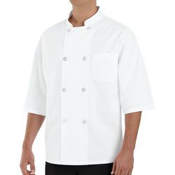 Chef Designs 0404 Half Sleeve Chef Coat Thumbnail