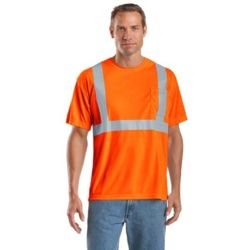 CornerStone CS401 Ansi 107 Class 2 Safety T Shirt Thumbnail