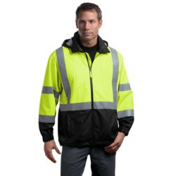 CornerStone CSJ25 Ansi 107 Class 3 Safety Windbreaker Thumbnail